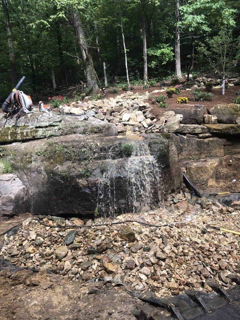 Beautiful Waterfall Project